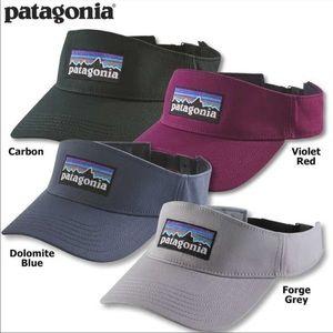 Patagonia P-6 Logo Dolomite Visor violet red